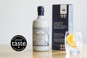 Mey Selections Traditional Scottish Gin Great Taste Award Winner 2018 1 star