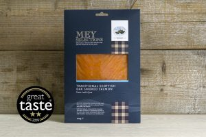 Mey Selections Traditional Smoked Salmon - Great Taste 2018 Winner 2 stars
