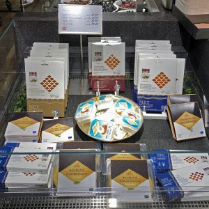 Mey Selections Smoked Salmon in the Globus delicatessa Switzerland